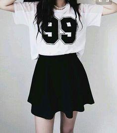 Ideas For Moda Coreana Juvenil Kawaii Korea Fashion, Kpop Fashion, Cute Fashion, Asian Fashion, Teen Fashion, Fashion Outfits, Style Fashion, Fashion Black, Fashion Ideas
