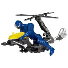Superb Power Rangers Ninja Steel Mega Morph Helicopter Blue Ranger Now At Smyths Toys UK! Buy Online Or Collect At Your Local Smyths Store! We Stock A Great Range Of Power Rangers At Great Prices. Power Rangers Action Figures, New Power Rangers, Power Rangers Toys, Power Rangers Ninja Steel, Brand Power, Ninja Star, Toys Uk, Shoulder Bags For School, Vehicles