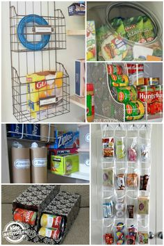 10 {Unconventional} Ways To Organize your Pantry via @hollyhomer