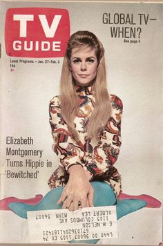 Elizabeth Montgomery was wonderful in one of my TV favorites, Bewitched.
