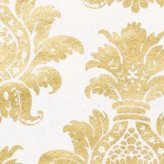 golden damasc pattern