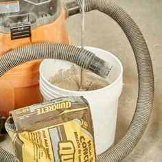 How to Properly Mix Concrete — The Family Handyman Smooth Concrete, Mix Concrete, Concrete Forms, Concrete Steps, Concrete Driveways, Poured Concrete, Concrete Projects, Diy Projects, Concrete Prices