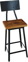 Check out our gallery of custom reclaimed & live edge wood & metal furniture. Reclaimed Wood Furniture, Reclaimed Barn Wood, Metal Furniture, Wood Stool, Stool Chair, Steel Metal, Wood And Metal, Industrial Stool, Live Edge Wood