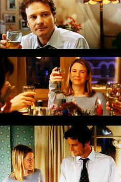 Bridget Jones & Mark Darcy (I like you just the way you are) Bridget Jones Movies, Bridget Jones Baby, Colin Firth Bridget Jones, Bridget Jones's Diary 2001, Mr Darcy, Renee Zellweger, About Time Movie, Love Movie, Pride And Prejudice