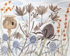 Angie Lewin Christmas 2012 - GODFREY & WATT – Harrogate, North Yorkshire - specialising in British art