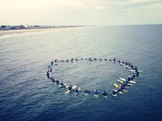 Paddle Out ceremony for Shane Holden (@Shane Holden) March 22, 2014. Rest easy, friend.  #ripshaneholden #AFSP