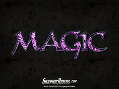 GraphicRiders | Fantasy style – Magic (free photoshop layer style, text effect)