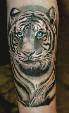 dd665d805 47 Best White tiger tattoo images in 2018   Tiger Tattoo, Tattoo ...