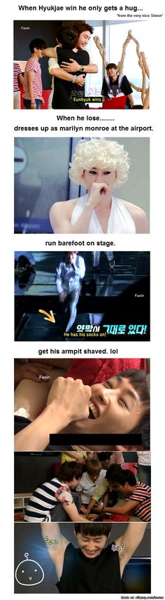 this is what happens if you lose a bet to SJ lol | allkpop Meme Center