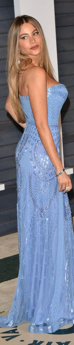 Sophia Vergara 2015 Vaniity Fair Oscars Party in Zuhair Murad