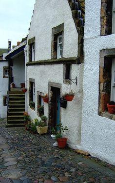 Culross, Firth of Forth, Fife, Scotland // by davydubbit on Flickr