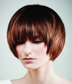Adorable Short Hairstyle for Brown Hair