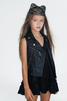 Mother of World's Most Controversial Model, Kristina Pimenova, Speaks Out Little Girl Outfits, Little Girl Fashion, Cute Outfits, Kristina Pimenova, Young Models, Child Models, The Most Beautiful Girl, Beautiful Children, Tween Mode