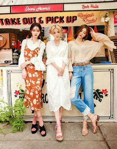 Yunghwa, Lou and Siyeon