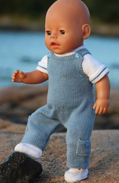Knitting patterns for dolls Baby Boy Knitting Patterns, Knitted Doll Patterns, Baby Patterns, Knitting Dolls Clothes, Doll Clothes Patterns, Baby Boy Doll Clothes, Baby Born Kleidung, Best Baby Doll, Knitted Owl