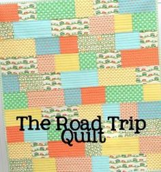 Baby Road Trip Quilt | FaveQuilts.com