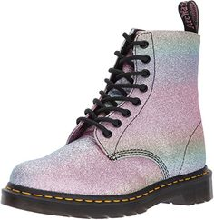 Dr. Martens Womens Pascal Gltr Ankle Boot, Glitter, 4 Medium UK (6 US): Amazon.co.uk: Shoes & Bags
