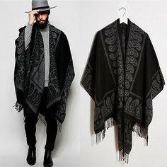 62 Ideas for style boho men Bohemian Style Men, Bohemian Mode, Boho Man, Boho Chic, Poncho Outfit, Vest Outfits, Fashion Mode, Boho Fashion, Mens Fashion