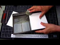Envelope Punch Board with a Super Cute Birthday Card - YouTube