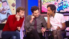 VIDEO: David Tennant, Danny Pudi & Ben Schwartz Talk DuckTales To ABC News         David Tennant, Danny Pudi and Ben Schwartz talked to ABC News this morning as part of their promotion of the new Disney series DuckTales...