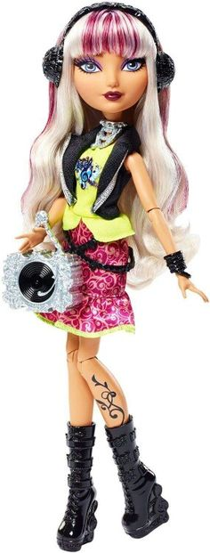 Melody Piper Ever After High Doll, 2015 - This is the debut Melody doll. She is the daughter of The Pied Piper.