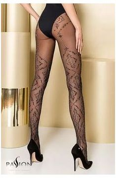 Collants TI105 - Gold Collection passion #hosiery #mate #rinse #free #wash #hosierymaterinsefreewash Pantyhose Outfits, Pantyhose Heels, Lingerie Outfits, Fashion Tights, Cozy Fashion, Tights Outfit, Leggings And Heels, Steampunk Fashion, Gothic Fashion