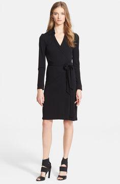 'New Jeanne Two' Jersey Wrap Dress /