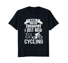 Amazon.com: Funny Cycologist Bike TShirt, Therapy Bicycle Gift Shirt: Clothing