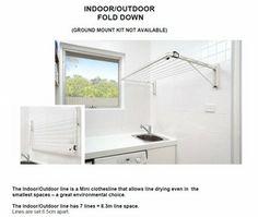 Austral Indoor Outdoor Fold Down Clothesline