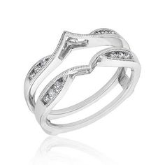 MY Wedding Band to wrap my marquise engagement ring