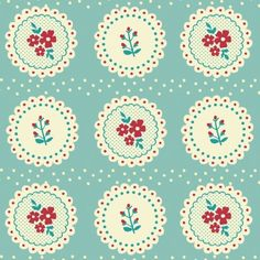 5 Sheets of Vintage Doily Design Wrapping Paper