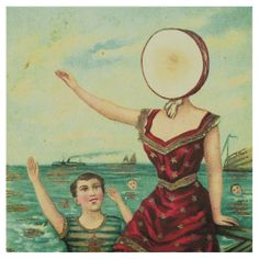 Neutral Milk Hotel shirt -In an Aeroplane Over the Sea