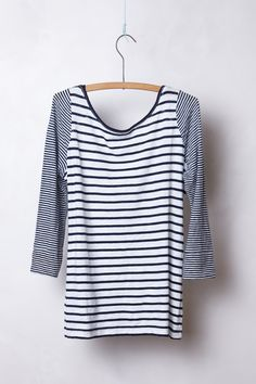 Duostripe Tee - Anthropologie Saturday Sunday 986f16024dea