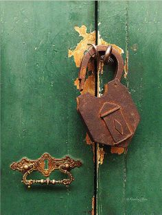 Broken lock ...