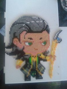 Loki perler (mini Hama) by Awi87 on deviantART