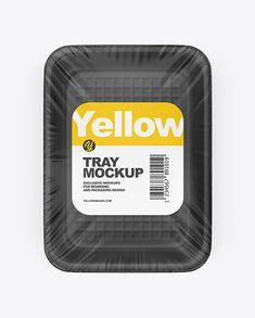 Food Tray Mockup in Tray & Platter Mockups on Yellow Images Object Mockups Phone Mockup, Box Mockup, Mockup Templates, Billboard Signs, Fish Food, Shirt Mockup, Food Fresh, Best Logo Design, Cottage Cheese