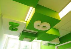 ceiling grid light kindergarden - Google Search