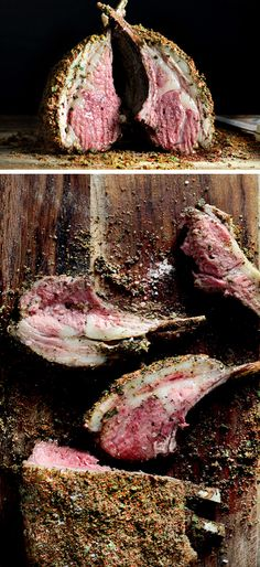 Rack of Lamb Cooked to Perfection | Click Pic for 22 Easy Romantic Dinner Recipes for Two | Easy Valentines Dinner Ideas for Him