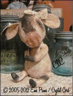 Clara Bell Cow. This is so cute!