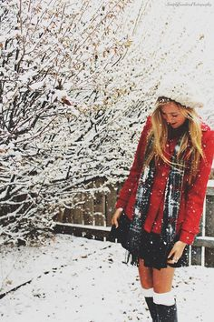 Love this cute winter outfit