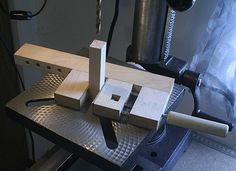Low Profile Vise for Band Saw or Drill Press Use