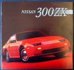 1986 Nissan 300ZX Z31 Brochure