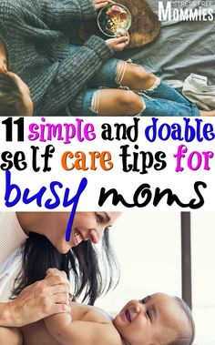 11 simple and doable self care tips for busy moms- Learn about the easy ways moms can care for themselves and why it's important. Simple self care tips for busy moms. Parenting Teens, Parenting Advice, Gentle Parenting, Anxiety In Children, Postpartum Care, Happy Mom, Newborn Care, Breastfeeding Tips, Working Moms