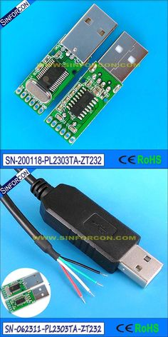 pl2303ta usb rs232 adapter prolific pl2303 usb serial wire end cable