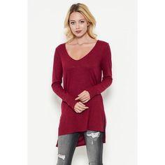 Hi-Lo Sweater Tunic