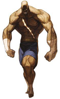 Sagat - Characters  Art - SNK vs. Capcom: SVC Chaos