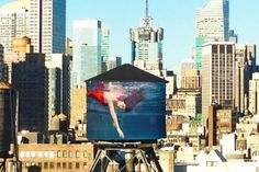 Mary Jordan- Water Tank Project, NYC - by Laurie Simmons (LP)