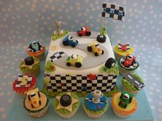 Race Track cake by Sugar Nelly (Isabel), via Flickr