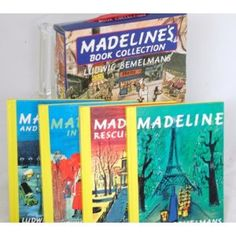 Madeline's Book Collection for my new neice!