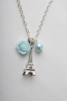 4aff285e2868 Eiffel necklace - Paris necklace - vintage style Collar De Cámara